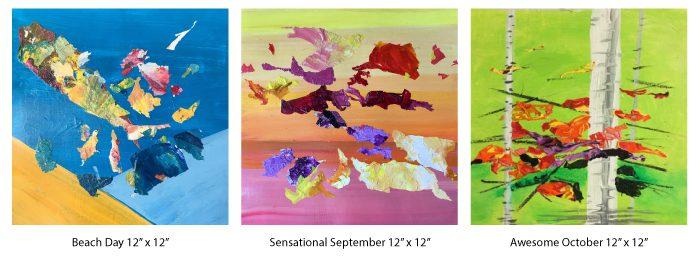 Julea Boswell's paintings