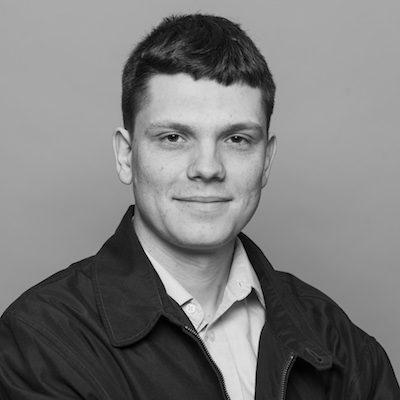 portrait of Ian Blagden