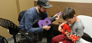 private music lessons learning the ukulele