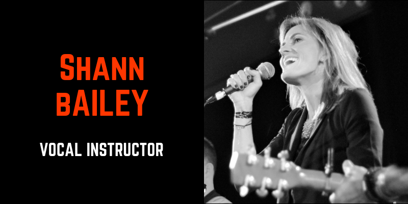 shann bailey vocal instructor