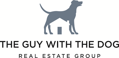 The Guy with the Dog logo