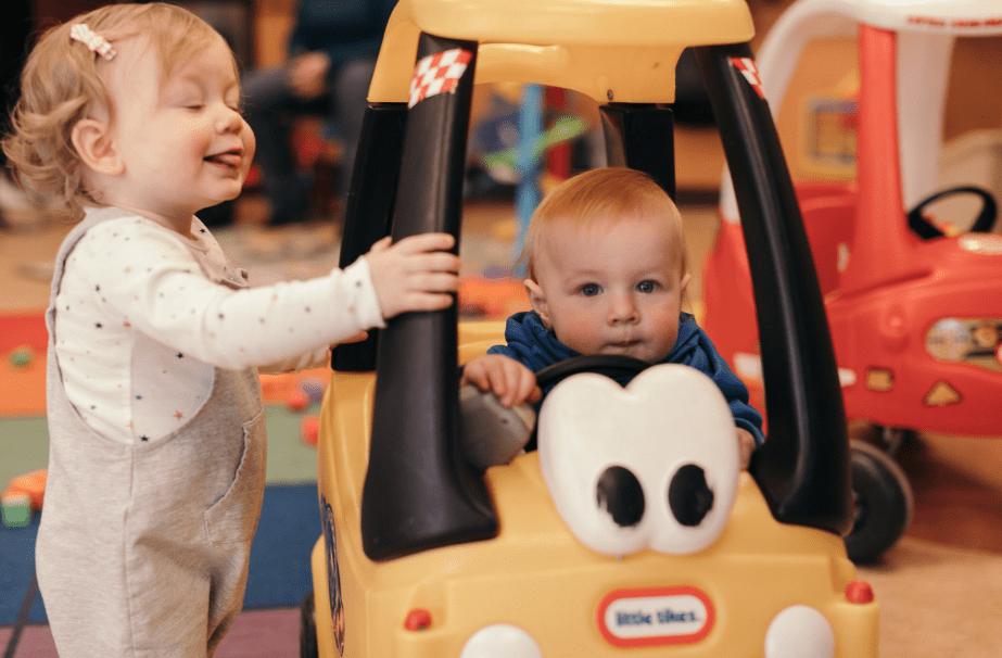 playgroup- preschool kids paying
