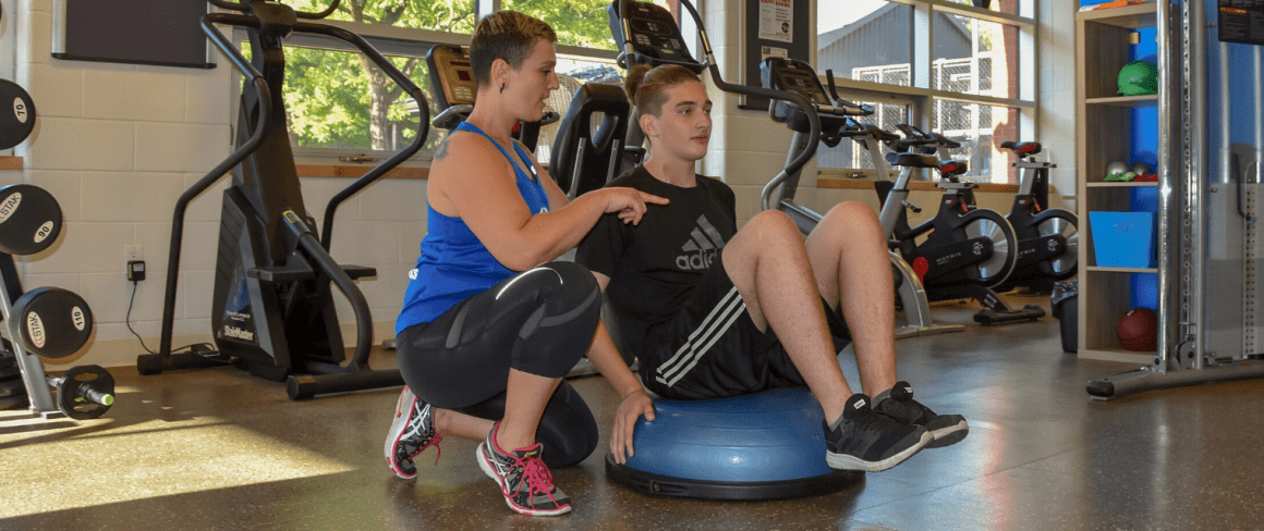 personal training in gym