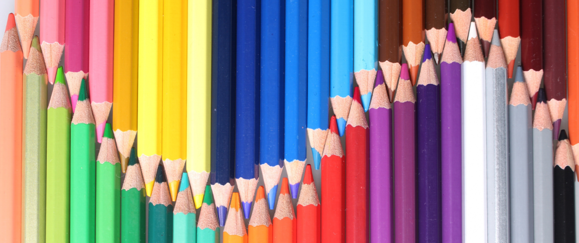 arts and culture banner- pencil crayons