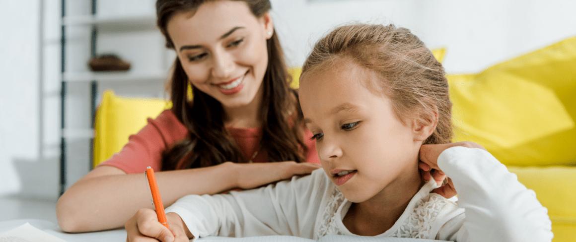 girl babysitting a little girl