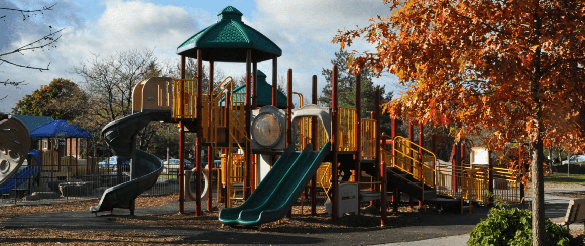 play structure at Dovercourt Recreation Centre