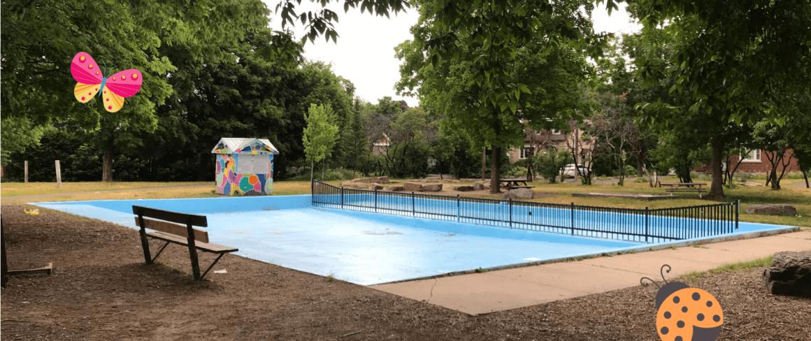 Dovercourt wading pool