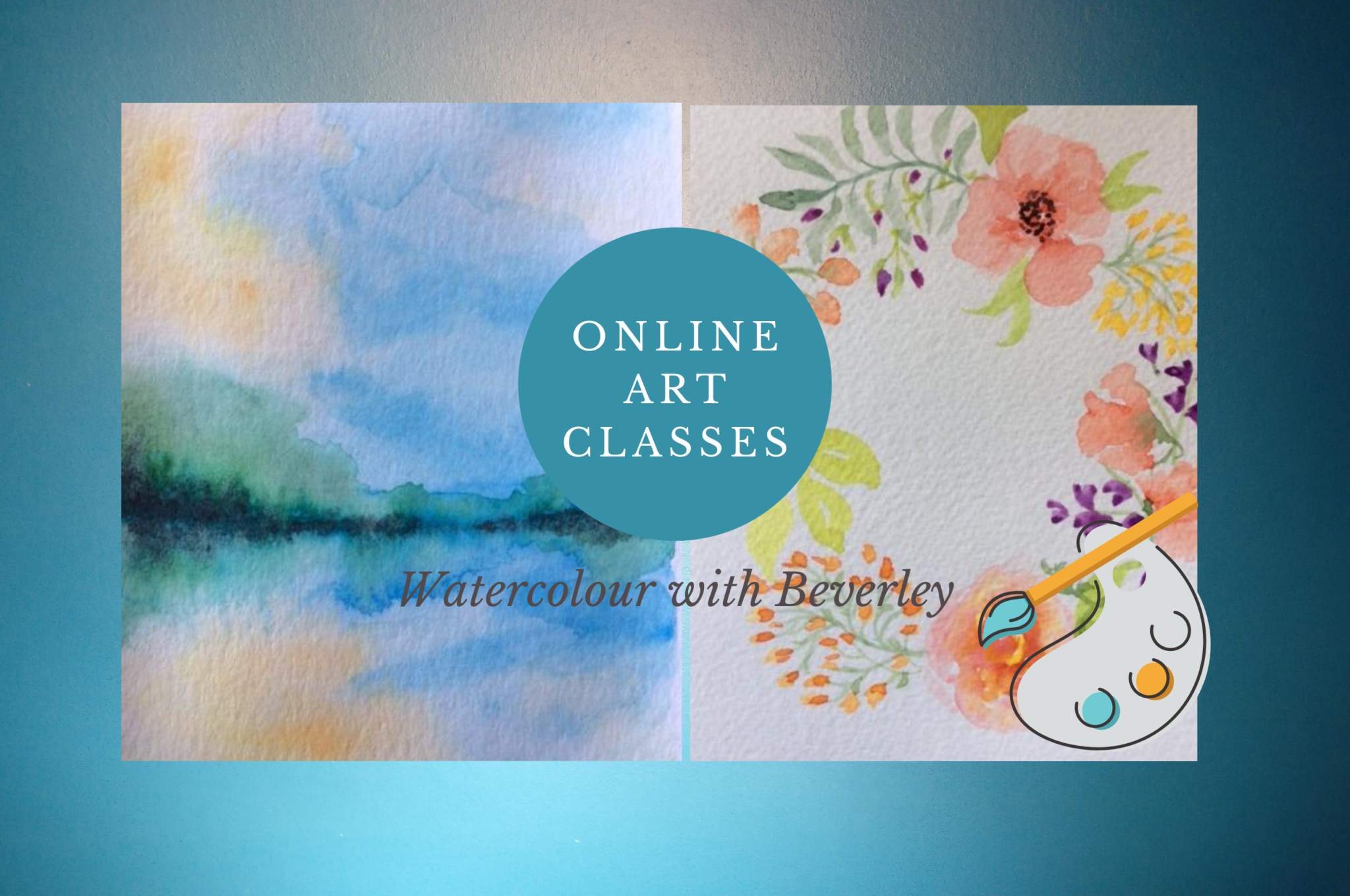 fall watercolour classes