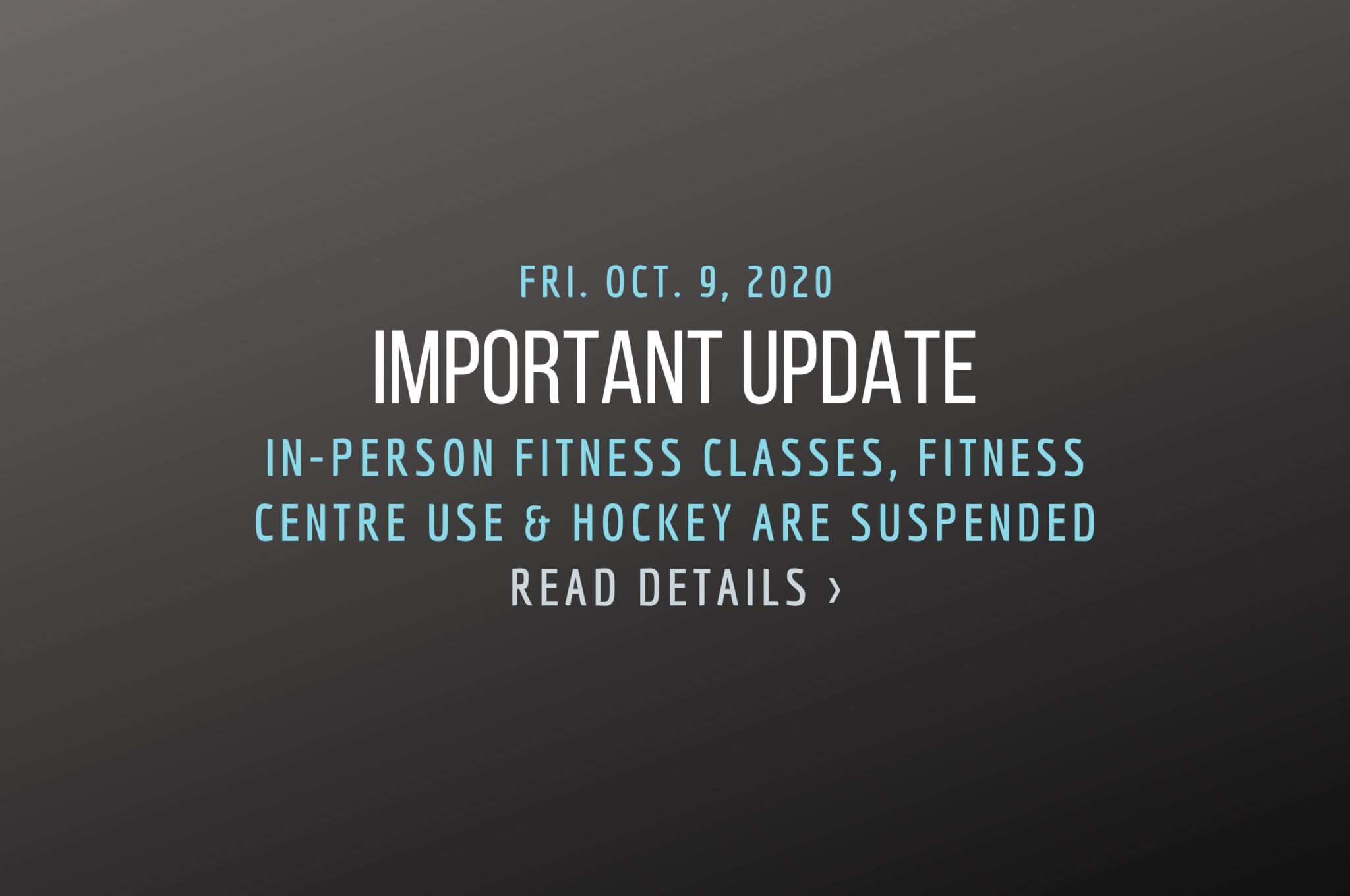 Oct 9 important update: in person classes and adult hockey are suspended. read details.