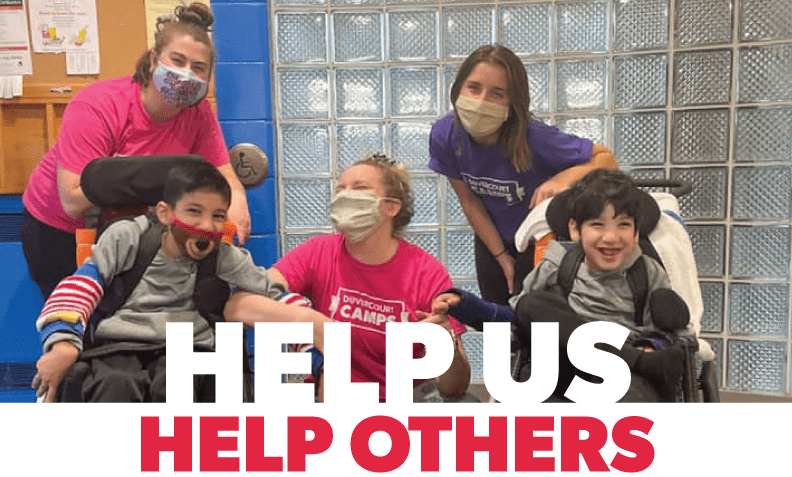 help us help others kids with staff